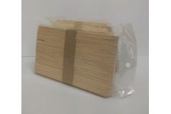 Шпатели деревянные, 50 шт/уп    узкие