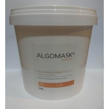 Альгинатная маска с Розмарином и Глина Гассул