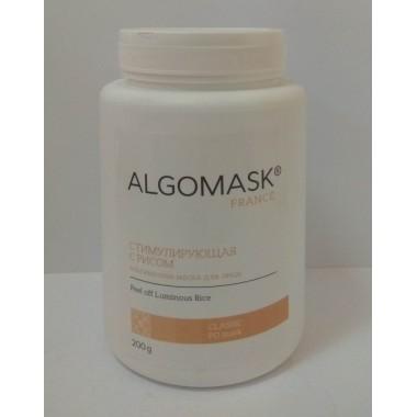 Альгинатная маска Стимулирующая с Рисом